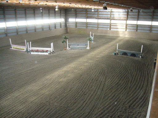 Crumb Rubber Horse Arena Footing