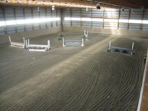 Crumb Rubber Horse Arena Footing