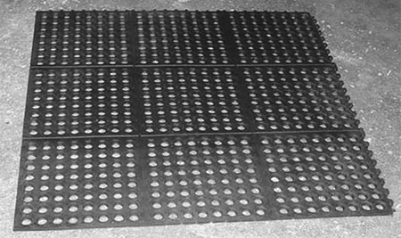 Perforated Horse Wash Stall Mats